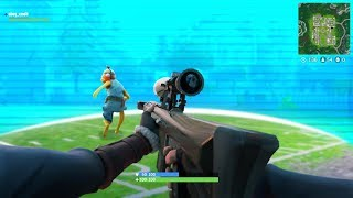 INSANE FIRST PERSON GLITCH Trickshot in Fortnite