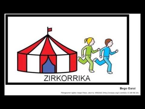 Zirkorrika piktogramekin (Bego Garai) #korrika