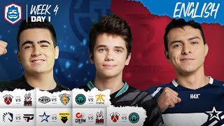 Clash Royale League: CRL West Fall 2019 | Week 4 Day 1! (English)