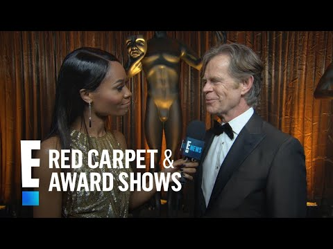 "William H. Macy on ""Lovely"" SAG Awards 2017 Win 
