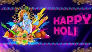 Free HD Holi Wish Animation Background, Invitation by Mantraadcom 22