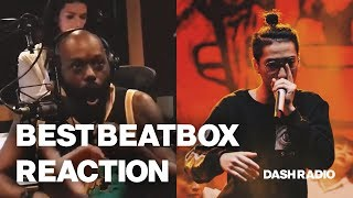 Best Beatbox reaction ever 😂 - Trung Bao at DASH Radio