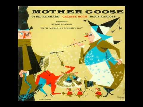 Mother Goose (Caedmon TC-1091) - Cyril Ritchard, Celeste Holm and Boris Karloff