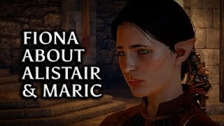 Dragon Age: Inquisition - Fiona about Alistair, Maric and her past
