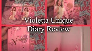 Violetta Unique Diary - Review    Violetta In Nederland