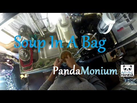 RV/Van Living Food: Soup in Bag