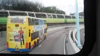 CTB 9018 98 香港仔(成都道)-香港真光書院