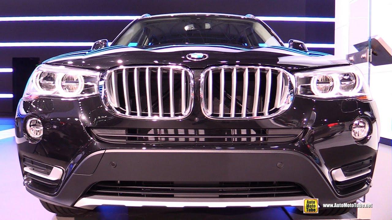 2017 Bmw X3 35i Xdrive Exterior And Interior Walkaround New York Auto Show
