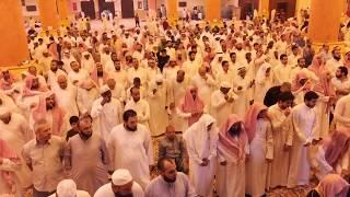 صلاة القيام ليلة ٢٧ رمضان ١٤٣٨ للشيخ عادل الكلباني