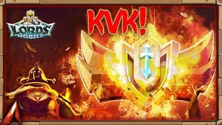 A 3 Way in KvK!  Lords Mobile