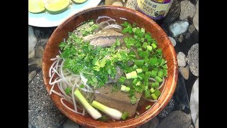 Vietnamese Phở Bo: Beef Noodles (For Anthony Bourdain)