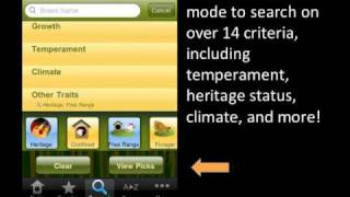 Pickin' Chicken Breed Selector By Mother Earth News Iphone App Demo
