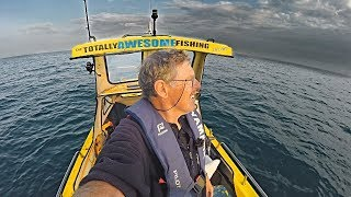 MAN ALONE in a Boat Fishing in SHARK INFESTED WATERS | FULL DOCUMENTARY