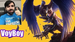 VoyBoy | QUINN vs DARIUS | QUINN Top | Master Gameplay | Patch 8.13