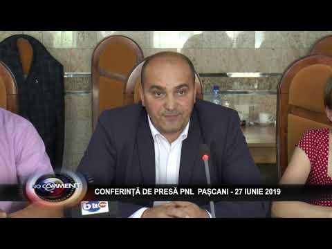 CONFERINȚĂ DE PRESĂ PNL PAȘCANI - 27 IUNIE 2019