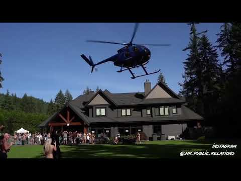 Lavish Anmore party with helicopters 'beyond unacceptable
