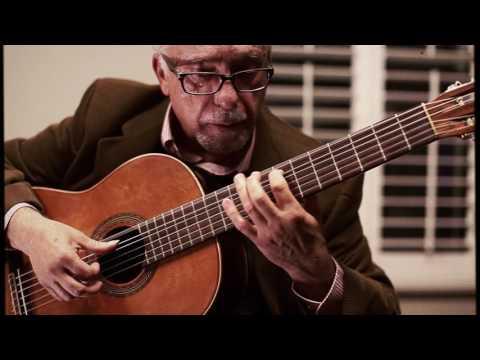 Pepe Romero Sr. Playing Pepe Romero Jr. Guitar