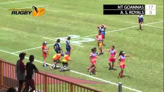 nt goannas v alice springs royals hottest 7s 2016 day one field one