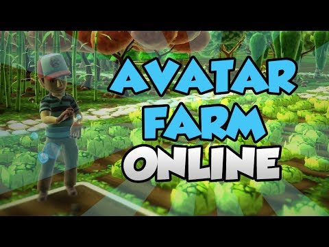 Lets Play Avatar Farm Online! - Xbox 360 Indie Marketplace Game - Farmville Style Indie Game.