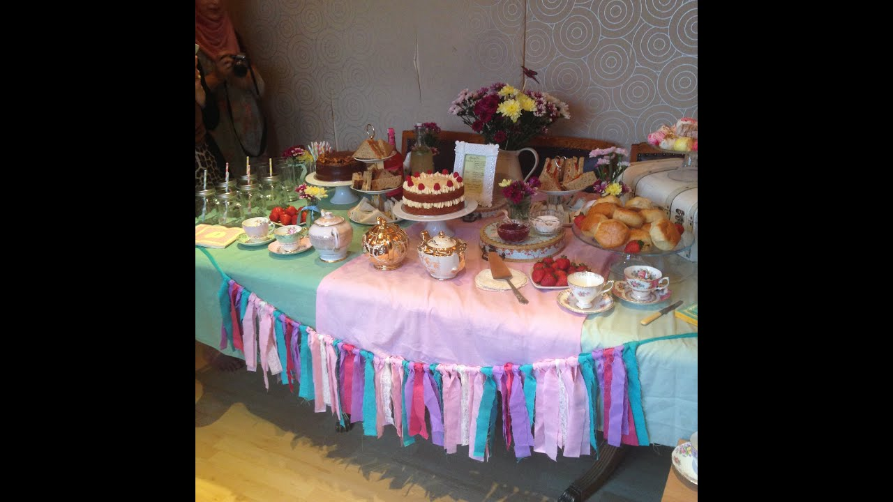 Afternoon Tea Baby Shower