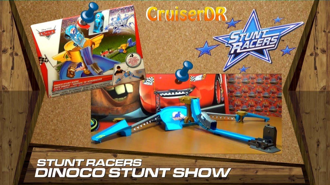 Disney Pixar Cars Dinoco Stunt Show Playset