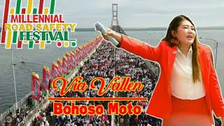 Via Vallen - Bohoso Moto Live Suramadu (Millennial Road Safety Festival)