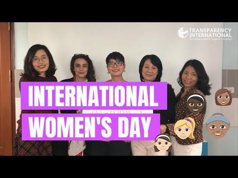 International Women's Day | Transparency International