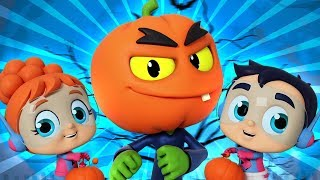 Страшно Тыквы Песня | Хэллоуин Песни Для Детей | Scary Pumpkin | Halloween Song | Kids Tv Russia