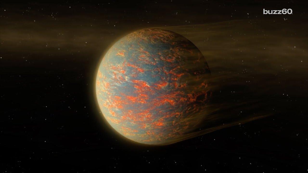 NASA announces lava planet - YouTube