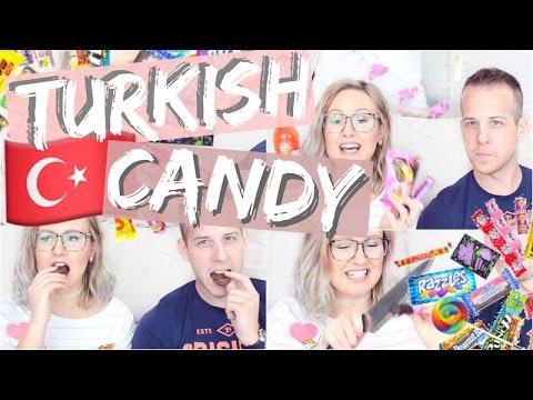 TURKISH CANDY CHALLENGE 🇹🇷 Türkische Süßigkeiten | ViktoriaSarina