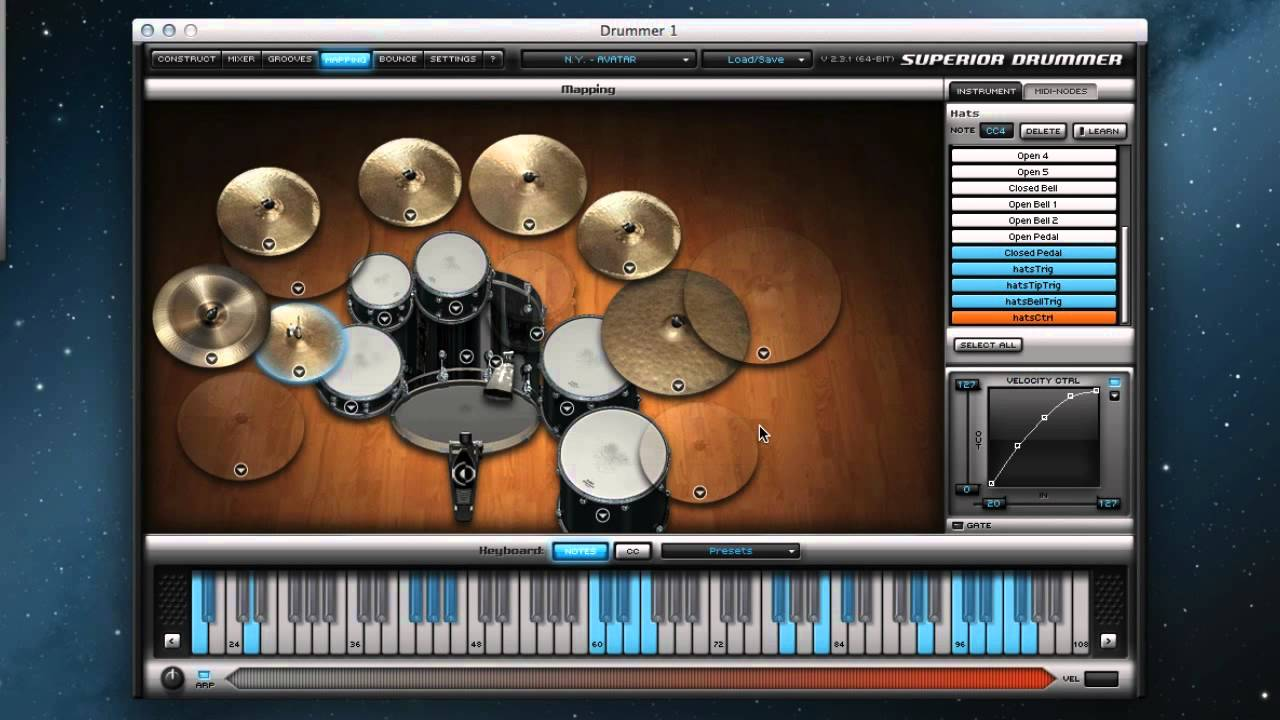 Superior Drummer Mapping Superior Drummer with e drums   YouTube