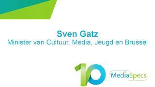MediaSpecs 10 - Interventie Minister Sven Gatz
