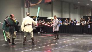 Saber Guild: Jakku Temple Performance at Celebration 7