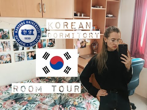 МОЕ ОБЩЕЖИТИЕ В КОРЕЕ 📚 Hanyang University Dorm ROOM TOUR