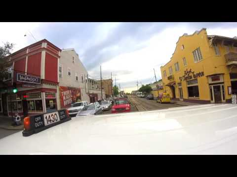 New Orleans Taxi Ride GoPro .