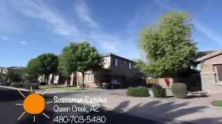 Sossaman Estates, Queen Creek Arizona