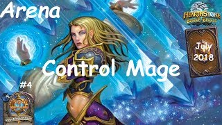 Hearthstone: Control Mage - JULY 2018 - Witchwood (Bosque das Bruxas) - Arena #4