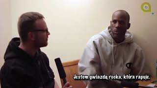 DMX shows his book of rhymes - exclusive interview