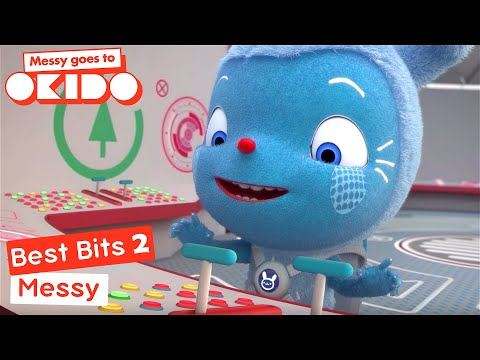 Messy Goes To Okido - Messy's Best Bits 2! | Cartoons For Children | Cbeebies
