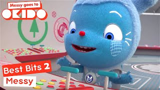 *MESSY'S BEST BITS 2* | Compilation | Messy Goes To Okido | Cartoons For Kids