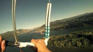 Jesse Richman: World Record Kiteboard Flying from 790ft thumbnail