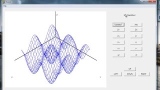 Borland Delphi 7. Разработка приложения для построение 3х мерного графика.