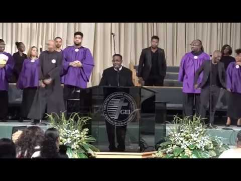 GEI COGIC Sunday Morning Worship Oct. 7, 2018: Bishop J. Drew Sheard