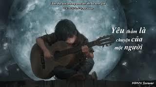 [Vietsub Pinyin] Yêu Thầm Là Chuyện Một Người Lyrics - Túc Vũ Dương - Nhạc Hoa Tâm Trạng|MMVV