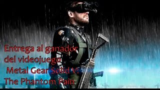 ¡Entregamos el videojuego Metal Gear Solid V al ganador!