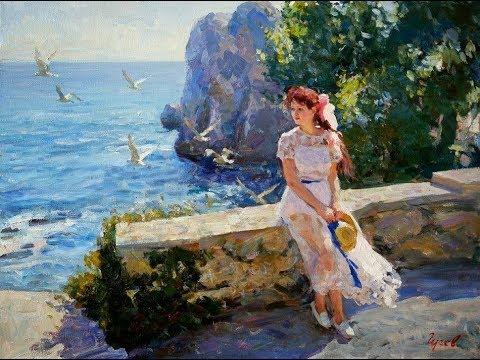 VLADIMIR GUSEV (1957) Russian artist ✽ Marianna's Lullaby