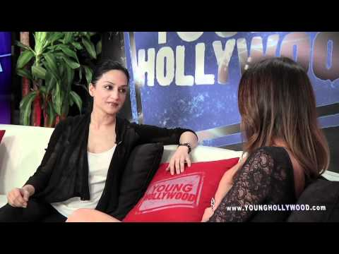 Archie Panjabi Lets Her Bad Girl Flag Fly