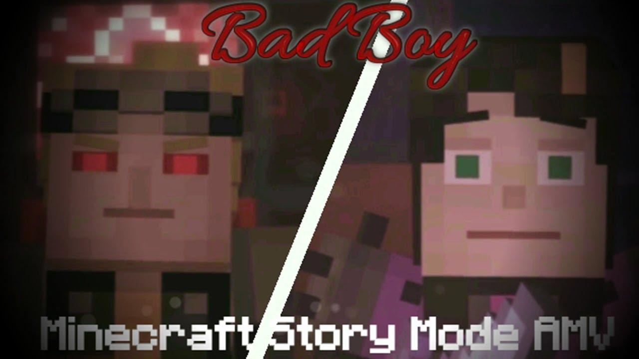 Bad Boy Minecraft Story Mode Amv Youtube