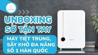 [2021.02 : Un-boxing] Máy tiệt trùng, sấy khô bình sữa UV LED Haenim PREMIUM cùng BetterMoms!