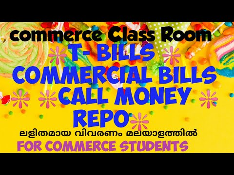 T- Bills, commercial bills, call money and Repo meaning in ...
